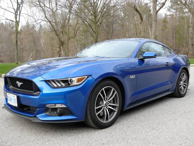 2017 Ford Mustang.