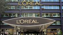 The L'Oreal SA headquarters are seen in Clichy, France, on Wednesday, Sept. 28, 2011. (Fabrice Dimier / Bloomberg/Fabrice Dimier / Bloomberg)