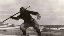 A still from Robert J. Flaherty's 1922 film Nanook of the North. (Robert J. Flaherty/The Kobal Collection)