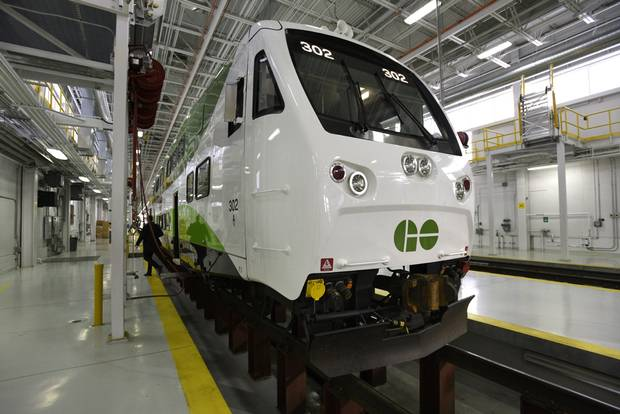A new GO Transit train