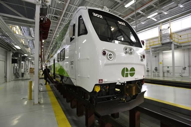 A new GO Transit train
