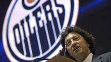 Daryl Katz talks during a news conference at Rexall Arena in Edmonton on Wednesday July 2, 2008. (Jimmy Jeong/The Canadian Press)