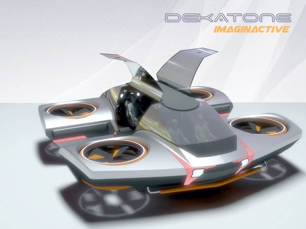 Piloting the Dekatone would feel a bit like driving a car on pavement.