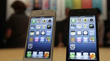 The iPhone 5: Smaller carriers, which include Mobilicity and Public Mobile, doubled their collective market share of subscribers from 2 per cent to 4 per cent in 2011, but are eager to poach more valuable smartphone users – including those loyal to Apple's iPhone. (Eric Risberg/Associated Press)