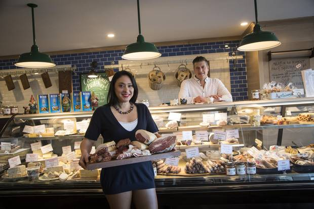 Empire Provisions co-owners Karen Kho and Dave Sturies, seen in their Calgary store on Dec. 11, began their business as a humble side project in 2016, eventually expanding to a brick-and-mortar location as they continue to provide quality cured meats to a number of local restaurants.