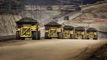 Finning International, the world's biggest Caterpillar equipment dealer, has seen its stock hammered by a drop in sales of mining equipment. (Caterpillar Inc.)
