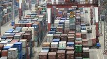 The World Bank forecasts a slowdown in world trade this year, with the volume of growth forecast at 4.7 per cent, down from 6.6 per cent in 2011. (Eugene Hoshiko/Eugene Hoshiko/Associated Press)