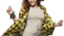 Good-girl celebrity role model Miley Cyrus.