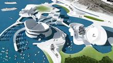 Ontario Place design proposal from Ryerson University students Stephen Baik, Wang Chiu, Gunil Choi, Janelle Day, Tae Hoon Kim, Ali Mohammadioun, Ron Noble, Negar Panahi, Jason Paulos, and Pegah Rahimian-Parvar.