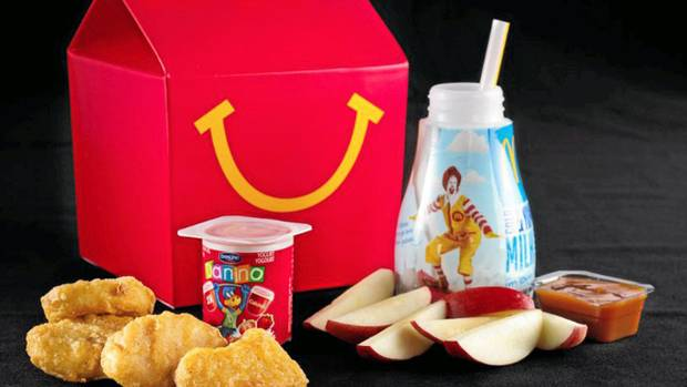 McDonald's new Happy Meal: Will there be fries, I mean ...