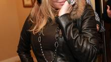 Courtney Love, once a one-woman booze cruise, maintains a less-than-rigorous commitment to schedules. (Barry Brecheisen/Invision for Fender/AP)