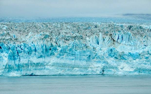 In Alaska's Glacier Bay National Park, you can get close enough to hear the glaciers 'pop' and 'crack' as they move.