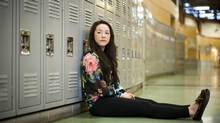 Grade 11 student Sabrina Shigeoka, 16, is photographed at Steveston-London Secondary School in Richmond, B.C., Jan. 21, 2013. (Rafal Gerszak for The Globe and Mail)