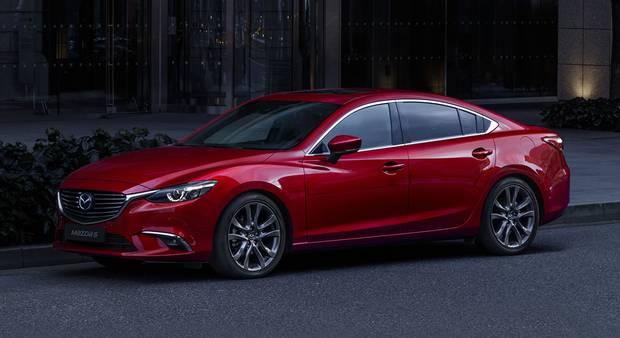 2017 Mazda6.