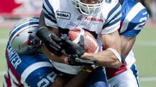 Toronto Argonauts' Spencer Watt (Graham Hughes/THE CANADIAN PRESS)
