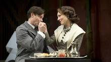 John Ullyatt and Diana Donnelly star in the Citadel Theatre's production of Noel Coward's Private Lives. (DAVID COOPER)