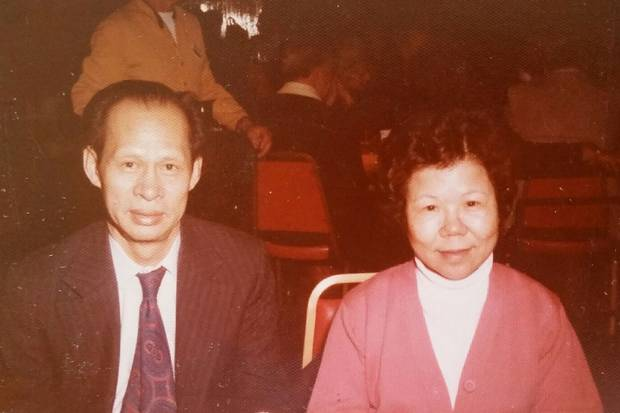 Pioneering restaurant owner Bing Foon Choy and his wife, Poy Fong Choy.