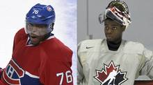 The Montreal Canadiens play the arch-rival Boston Bruins Monday, a preseason matchup that features the first-ever competitive meeting between Norris Trophy-winning defenceman P.K. Subban and his kid brother Malcolm.