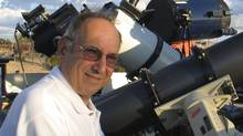 David Levy - Stargazers can glimpse into the discoveries of Canada's most famous amateur astronomer after the Royal Astronomical Society of Canada decided to post 16,000 logbook entries of David Levy, who began his skyward searching as a boy in Montreal and ended up having a comet named after him. (submitted photo)