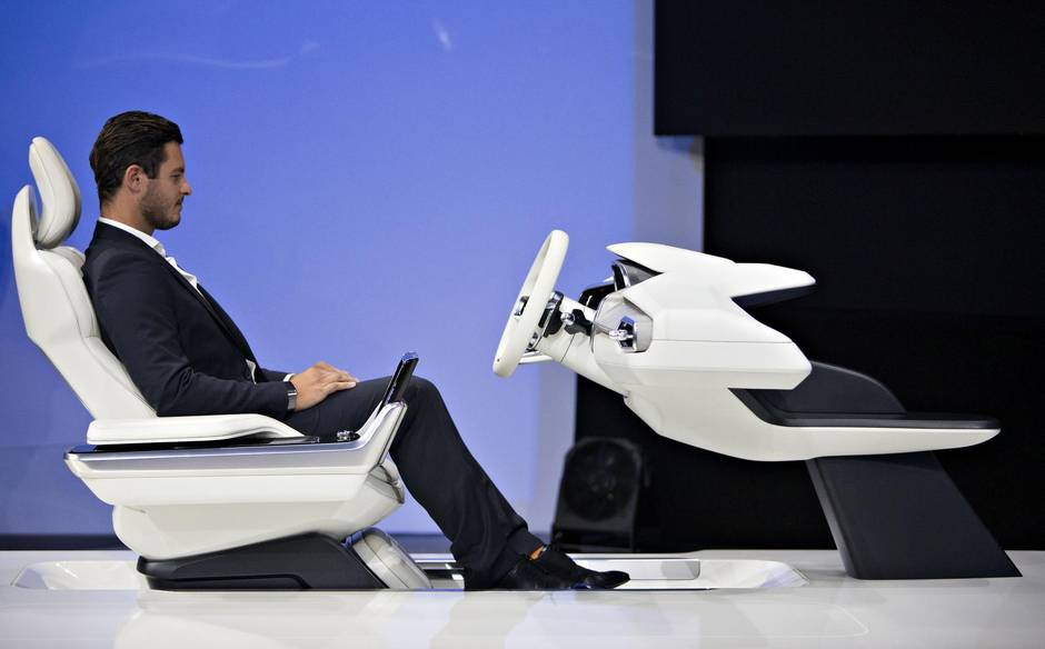 Volvo unveils a seat 'time machine' hoping to change how we