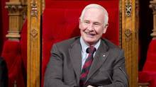 Governor-General David Johnston says Rideau Hall will print and send Canadians' greetings to the Royal Family in several weeks. (ADRIAN WYLD/THE CANADIAN PRESS)