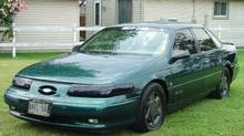 The 1995 Ford Taurus SHO owned by Marcel Timmons is one of only 2,026 manual-gearbox cars produced that year. (MARCEL TIMMONS)