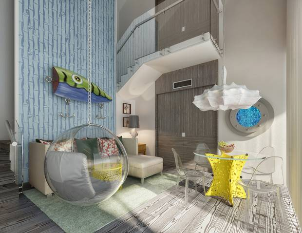 Looking for more baby-friendly travel options? The Pineapple Villa at Nickelodeon Hotels & Resorts Punta Cana is inspired by SpongeBob SquarePants' own home in Bikini Bottom.