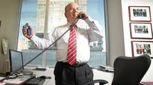 "Accountant Peter Jarvis is seen in his Toronto CFA Society office on Aug. 29, 2011. He watched the film ""Chasing Madoff"" with Dave Globe and Mail reporter McGinn. (Jennifer Roberts for the Globe and Mail)"