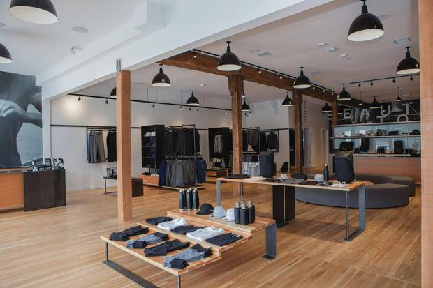 The chic, award-winning RYU flagship store speaks to the brand's commitment to creating athletic apparel that's pleasing to the eye
