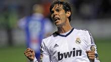 Real Madrid's Kaka from Brazil (Alberto Saiz/The Associated Press)