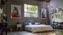 Janette Ewen's bedroom in Los Angeles (Matthew Alvarado For The Globe and Mail)