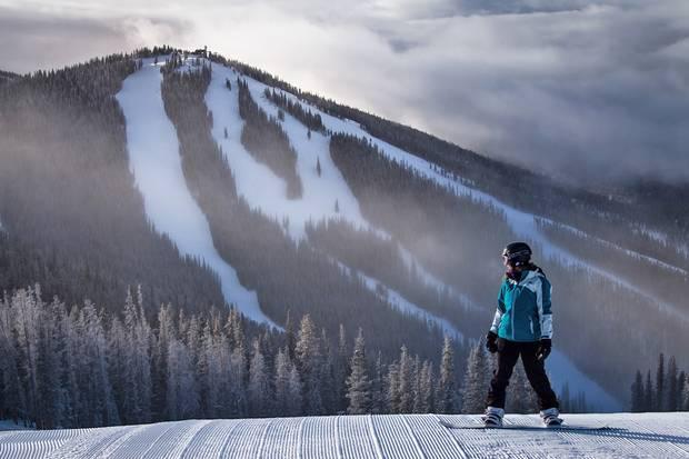 Keystone's new high-speed six-passenger chair serves an array of intermediate slopes.