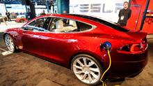 Tesla Model S electric car (STAN HONDA/AFP/Getty Images)