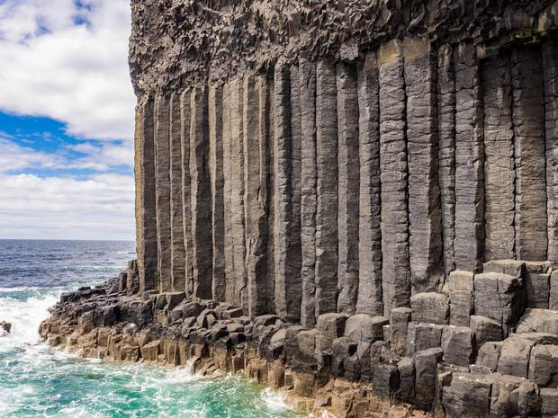 Fingals Cave on the Isle of Staffa.