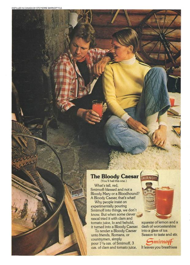 A 1976 advertisement for the Caesar in Canada.