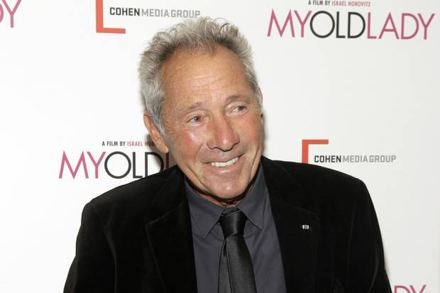 Sept. 9, 2014: Israel Horovitz attends the premiere of My Old Lady in New York.