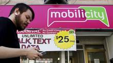 Telus said Mobilicity's 250,000 customers should experience no interruption in service (Michelle Siu for The Globe and Mail)