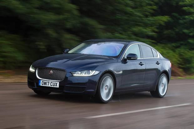 2018 Jaguar XE.
