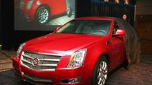 GM's Cadillac CTS. (GENERAL MOTORS)