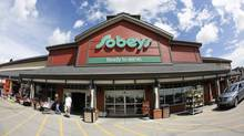 A Sobeys store in Calgary on June 13, 2013. (Todd Korol For The Globe and Mail)