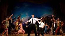 "A scene from the Broadway production of ""The Book of Mormon"" (Joan Marcus)"