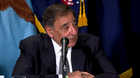 "U.S. Secretary of Defense Leon Panetta warns Syria not to make the ""terrible mistake"" of  using chemical weapons on its people."