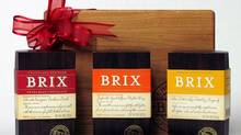 Brix chocolates: three-piece gift