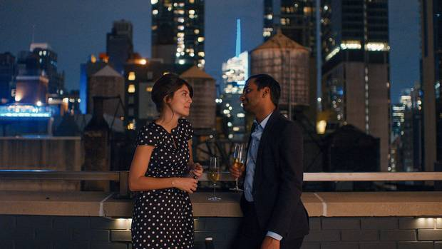 Aziz Ansari and Alessandra Mastronardi in an episode of Master of None.