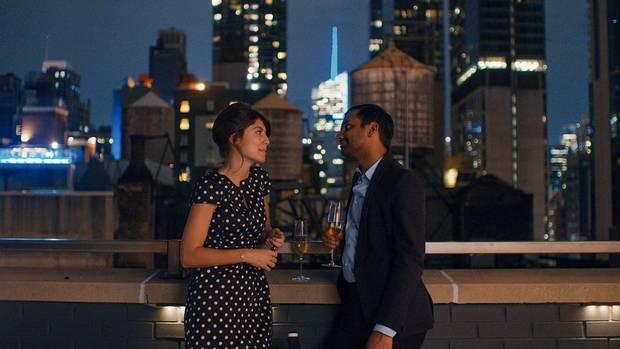 Aziz Ansari and Alessandra Mastronardi in an episode of Master of None.