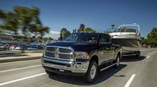 2014 Ram heavy-duty pickup: In 2009 Chrysler split the Ram pickup from Dodge, creating a standalone brand. (Chrysler)
