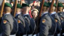 Newly appointed German Defence Minister Ursula von der Leyen is one of the most popular members in Chancellor Angela Merkel's government. (FABRIZIO BENSCH/REUTERS)