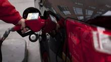 The average household expenditure on gasoline in the U.S. hit $2,912 (U.S.) in 2012, the EIA said, or just under 4 per cent of pre-tax income, as higher prices at the pump cancelled out the effect of more efficient vehicles. (Moe Doiron/The Globe and Mail)