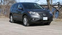 2012 Honda CR-V EX (Bob English for The Globe and Mail)