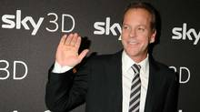 "Actor Kiefer Sutherland in Munich, Germany, last year: He stars in a new show called ""Touch"" on Fox. (Hannes Magerstaedt/Getty Images)"